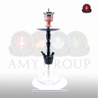 Vodní dýmka AMY Alu-X S 064 - black clear