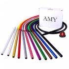 Set silikonová hadice s náustkem Amy černá matná
