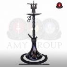 Vodní dýmka Amy Alu Sierra 073-01 black powder black