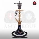 Vodní dýmka AMY Alu Sierra S 073-02 gold black