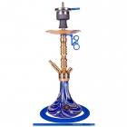 Vodní dýmka AMY Alu Sierra S 073-02 gold blue