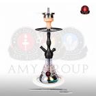 Vodní dýmka Amy Small Rips 470R 50 cm white RS black