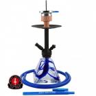Vodní dýmka Amy Falcon 50 cm blue RS Black Powder