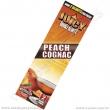 Tabákový list Juicy Blunt Peach Cognac
