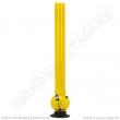 Bong acrylic AT000Y žlutá 55 cm