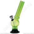 Bong acrylic AT001G zelená 16 cm