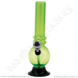 Bong acrylic AT004G zelená 16 cm