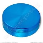 Drtička hliníková CNC 5 cm modrá 2-díly