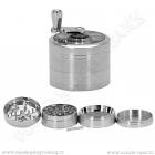 Drtička kovová AT276 ∅5,5 cm 4-dílná mlýnek
