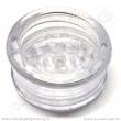 Drtička plastová Magnetic čirá 3 části 6 cm