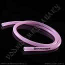 Hadice silikonová Kaya Transparent 150 cm růžová