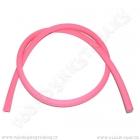 Hadice pro vodní dýmky silikonová 150 cm růžová