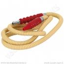 Hadice pro vodní dýmky Remo AT967 150 cm béžová