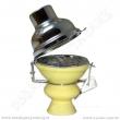 Korunka pro vodní dýmky se závětřím žlutá