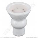 Korunka pro vodní dýmky Aladin vypouklá bílá