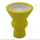 Korunka pro vodní dýmky Aladin vypouklá žlutá
