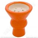 Korunka pro vodní dýmky Aladin vypouklá oranžová