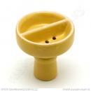 Korunka pro vodní dýmky Malika půlená žlutá