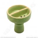 Korunka pro vodní dýmky Malika půlená zelená