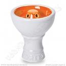 Korunka pro vodní dýmky Sahara Smoke Vortex bílá oranžová