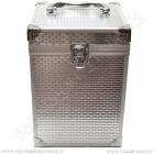 Kufřík pro vodní dýmku King Hookah Espresso stříbrný