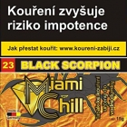 Tabák Miami Chill Black Scorpion 15 g