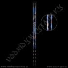 Náustek Kaya Camouflage pro silikonové hadice černo modrá