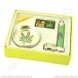 Sada Dreamliner drtič kovový, šlukovka, sítka - Cannabis