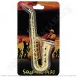 Šlukovka Remo saxofon zlatá