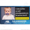 Tabák Salamander Premium Shisha 20 g Suchý