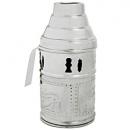 Tarbuš pro vodní dýmky Top Mark 20 cm stříbrný