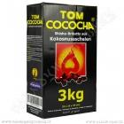 Uhlíky do vodní dýmky Tom Cococha 3 kg Yellow