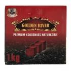 Uhlíky do vodní dýmky Golden River XL 1 kg