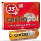 Uhlíky do vodní dýmky Carbopol 35 mm