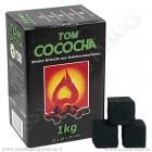 Uhlíky do vodní dýmky Tom Cococha 1 kg Green
