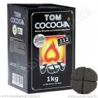 Uhlíky do vodní dýmky Tom Cococha 1 kg Silver