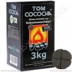 Uhlíky do vodní dýmky Tom Cococha 3 kg Silver