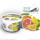 Ice Frutz vaporizační gel Citrus Splash 100 g