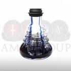 Váza Amy Small Rips Klick II blue - black powder