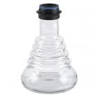 Váza Amy Stillness Klick II clear - black powder