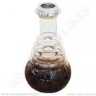 Váza pro vodní dýmky Hoodz Compton 30 cm černá