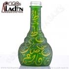 Váza pro vodní dýmky Aladin Istanbul 30 cm zelená