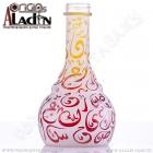 Váza pro vodní dýmky Aladin Kairo 30 cm červená