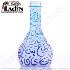 Váza pro vodní dýmky Aladin Kairo 30 cm modrá
