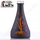 Váza pro vodní dýmky Aladin Manila 30 cm černá