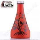 Váza pro vodní dýmky Aladin Manila 30 cm oranžová