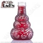 Váza pro vodní dýmky Aladin Saigon 24 cm červená