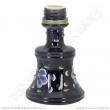 Váza pro vodní dýmky Remo 19 cm černá závit