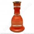 Váza pro vodní dýmky Top Mark 26 cm Heket červená