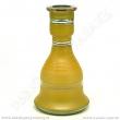Váza pro vodní dýmky Top Mark 30 cm Fateh žlutá